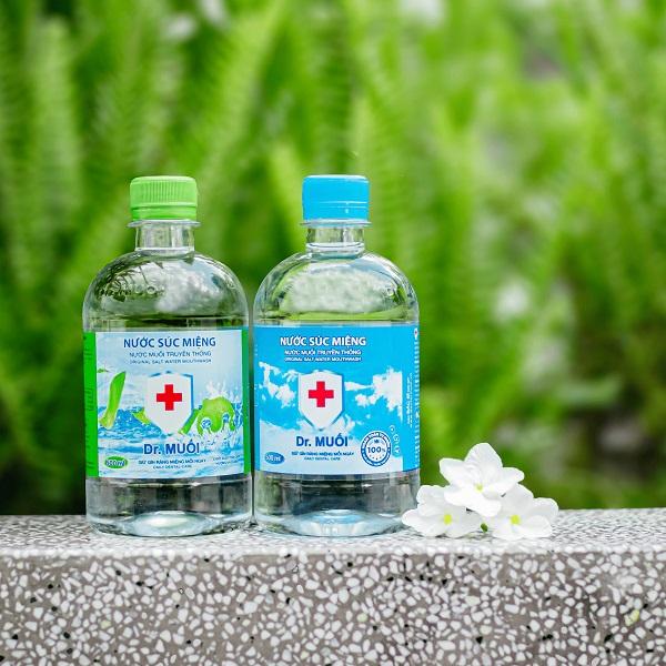 nước súc miệng diệt khuẩn - Dr.Muối
