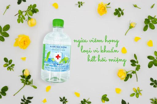 nước súc miệng dr muối tốt sức khoẻ