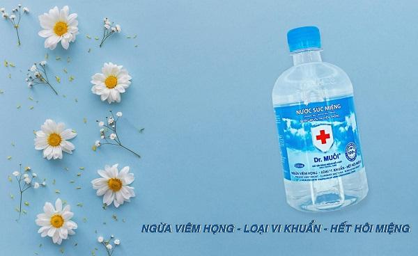 nước súc miệng sát khuẩn - Dr.Muối