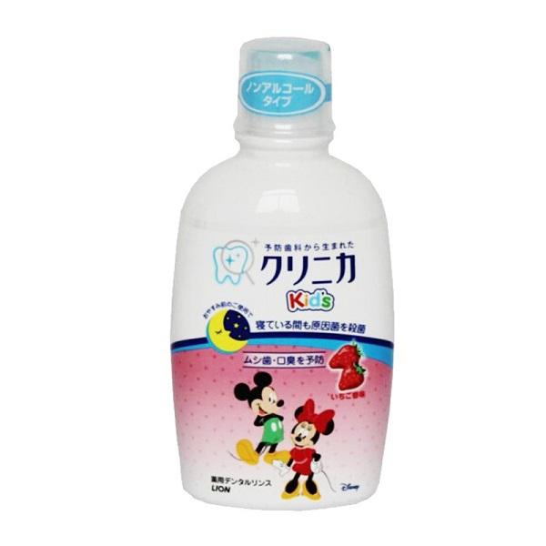 nước súc miệng trẻ em nuốt được - Dr.Muối