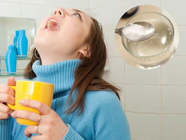 cách chữa viêm chân răng bằng nước muối