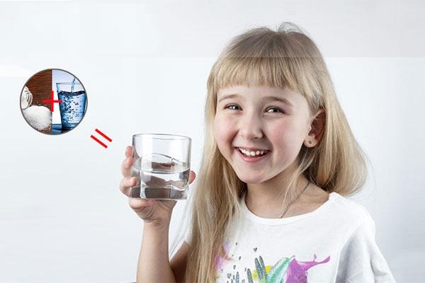 nước súc miệng trẻ em tốt - Dr.Muối