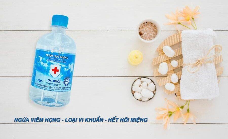 tác dụng của nước súc miệng
