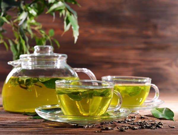 trà xanh tốt cho lợi