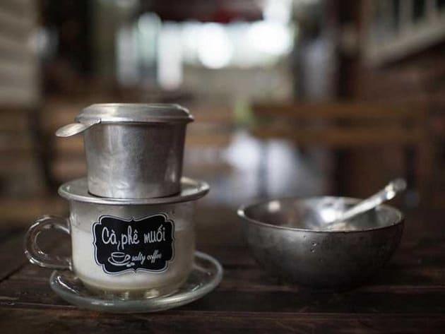 cách làm cafe muối