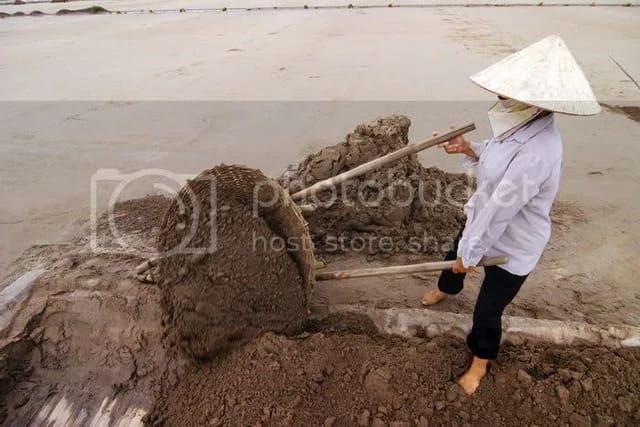 Cách làm muối biển