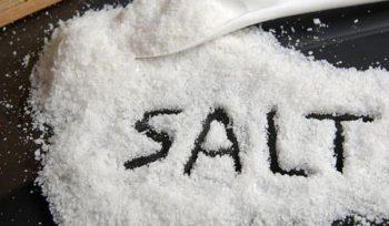Công thức hóa học của muối