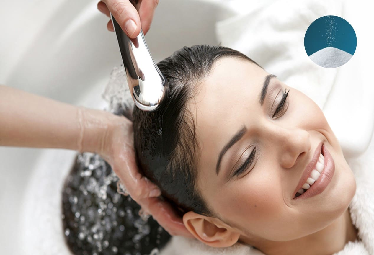 không nên lạm dụng nước muối trị nấm da đầu
