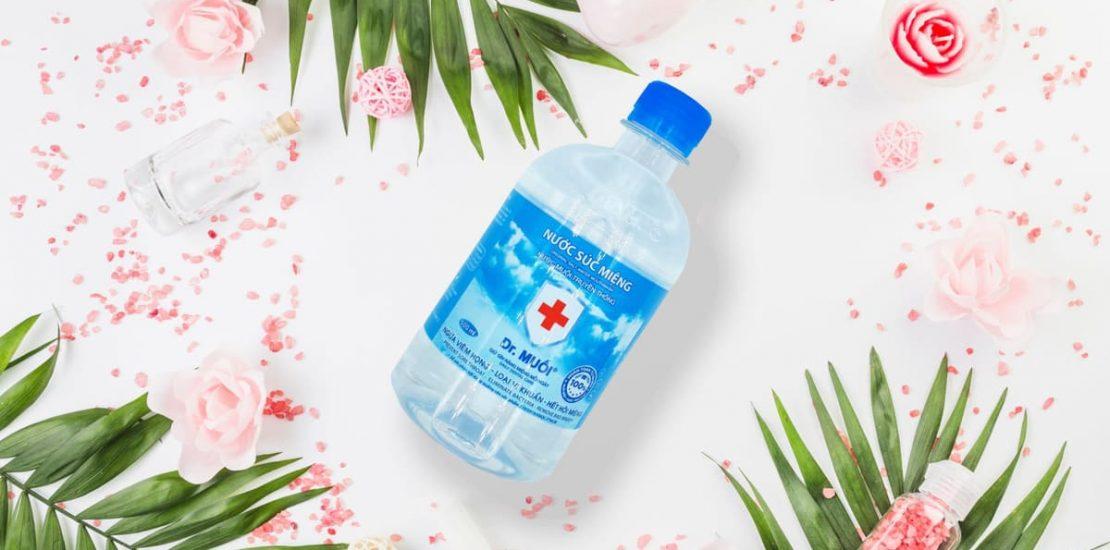 nước muối điều trị viêm họng