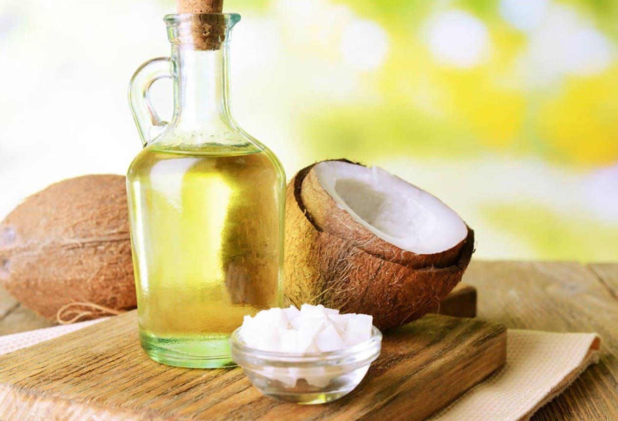 trị lác bằng muối và dầu dừa