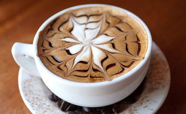 cà phê latte là gì