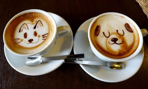 cà phê latte thơm ngon