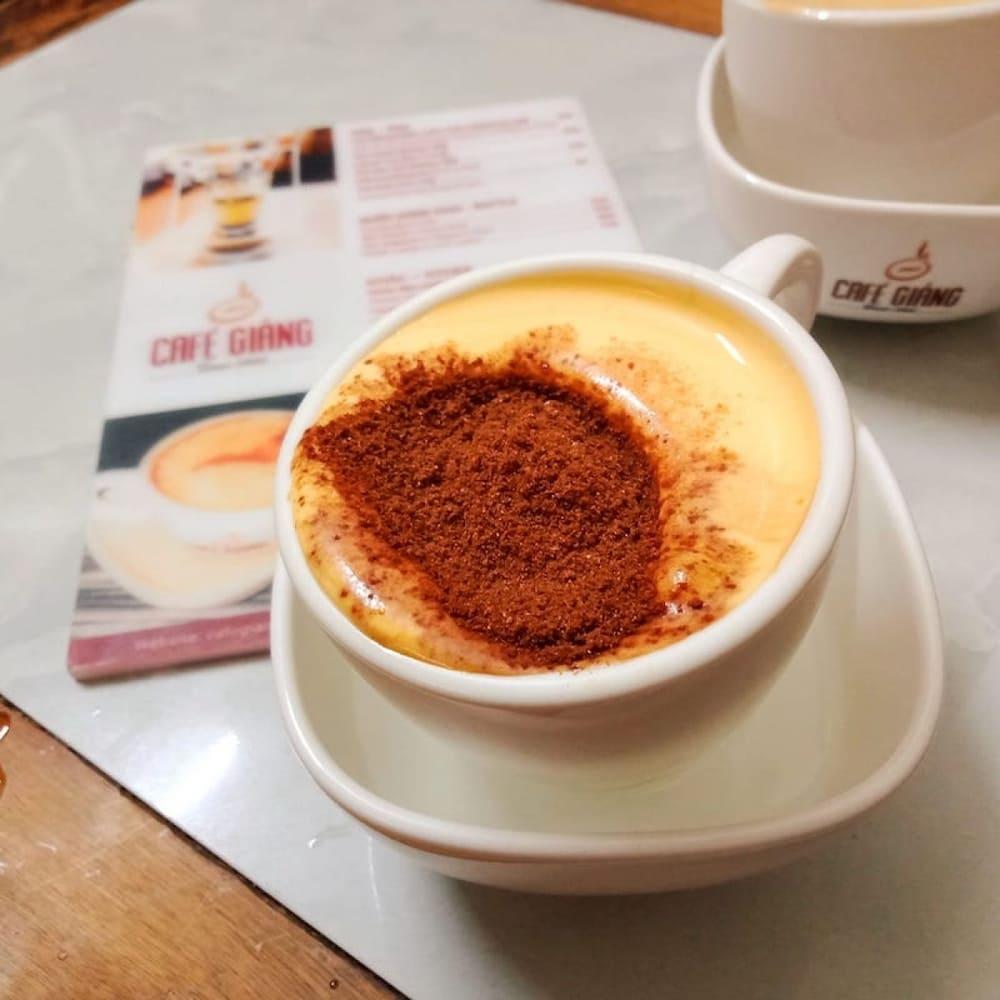 cách làm cafe trứng