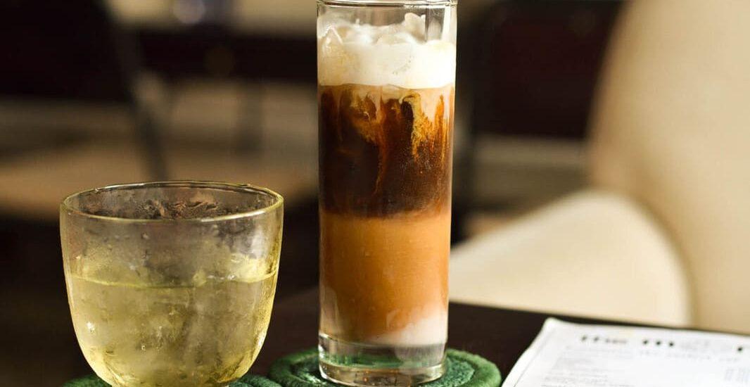 cách pha cafe sữa ngon