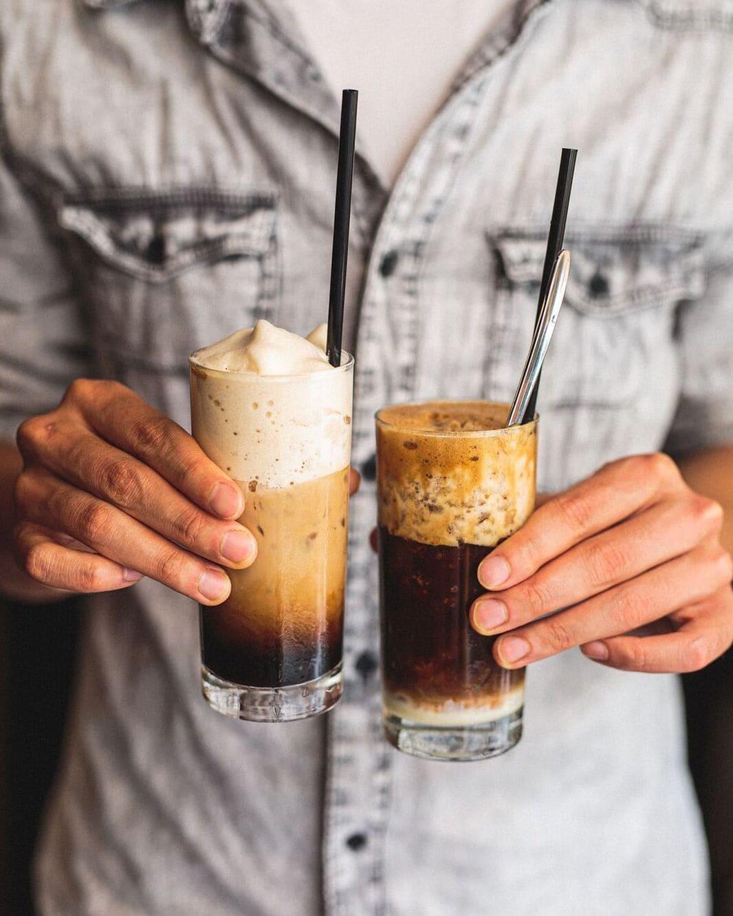 cách pha cafe sữa thơm ngon và vệ sinh
