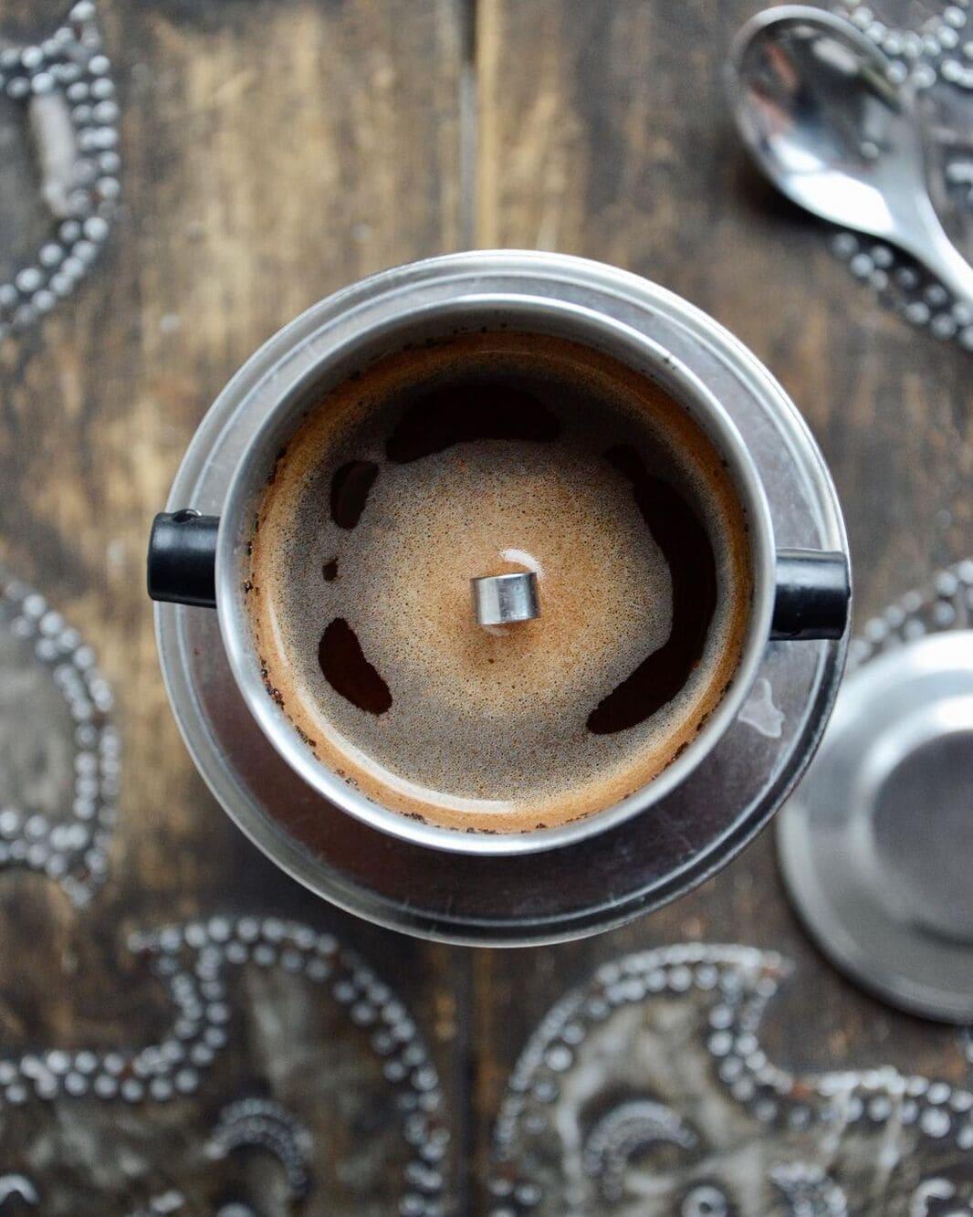 cách pha cafe sữa thơm ngon