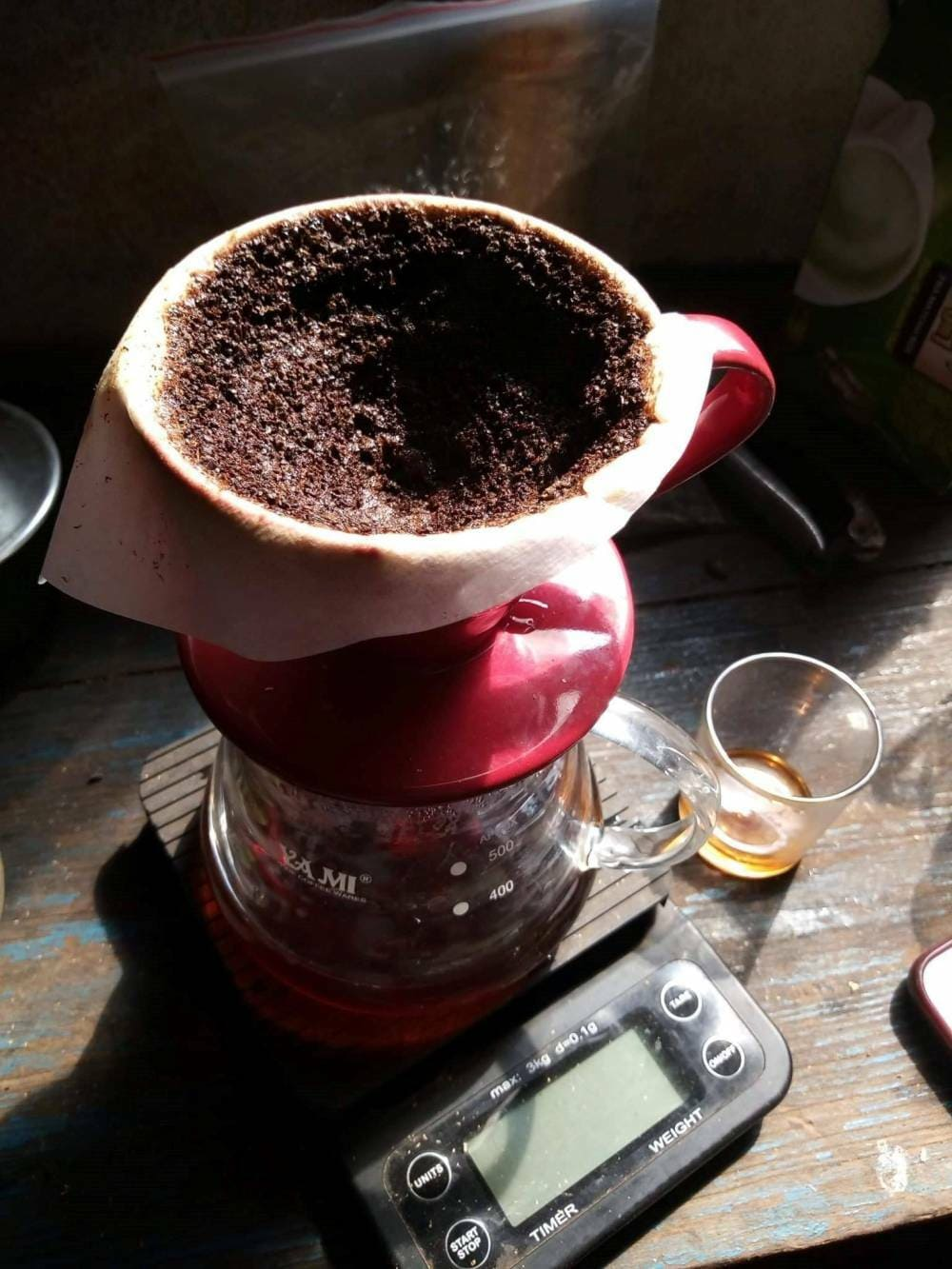cách ủ cafe ngon nhất