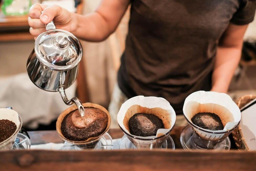 cách ủ cafe thơm ngon