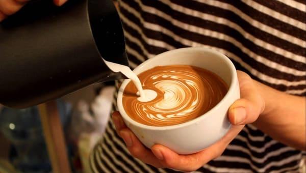 cafe capuchino thơm ngon