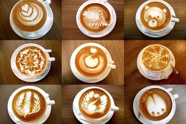 phân biệt cà phê latte và capuchino