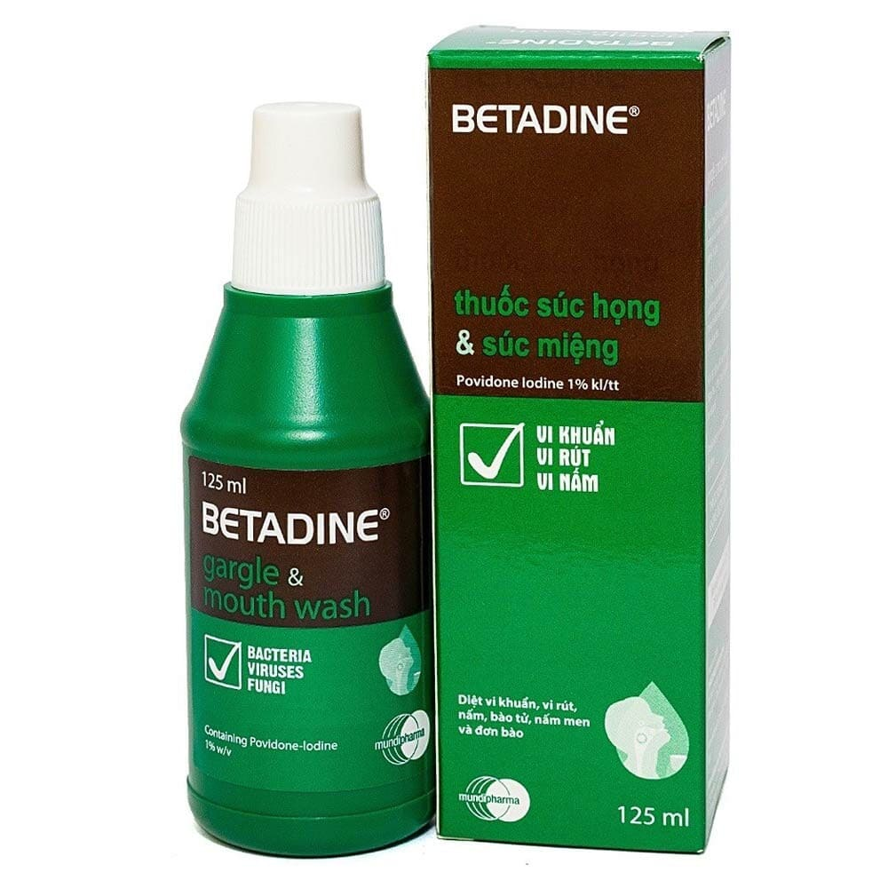 dung dịch súc miệng betadine